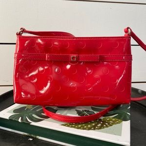 Kate Spade Pink Patent Leather Crossbody